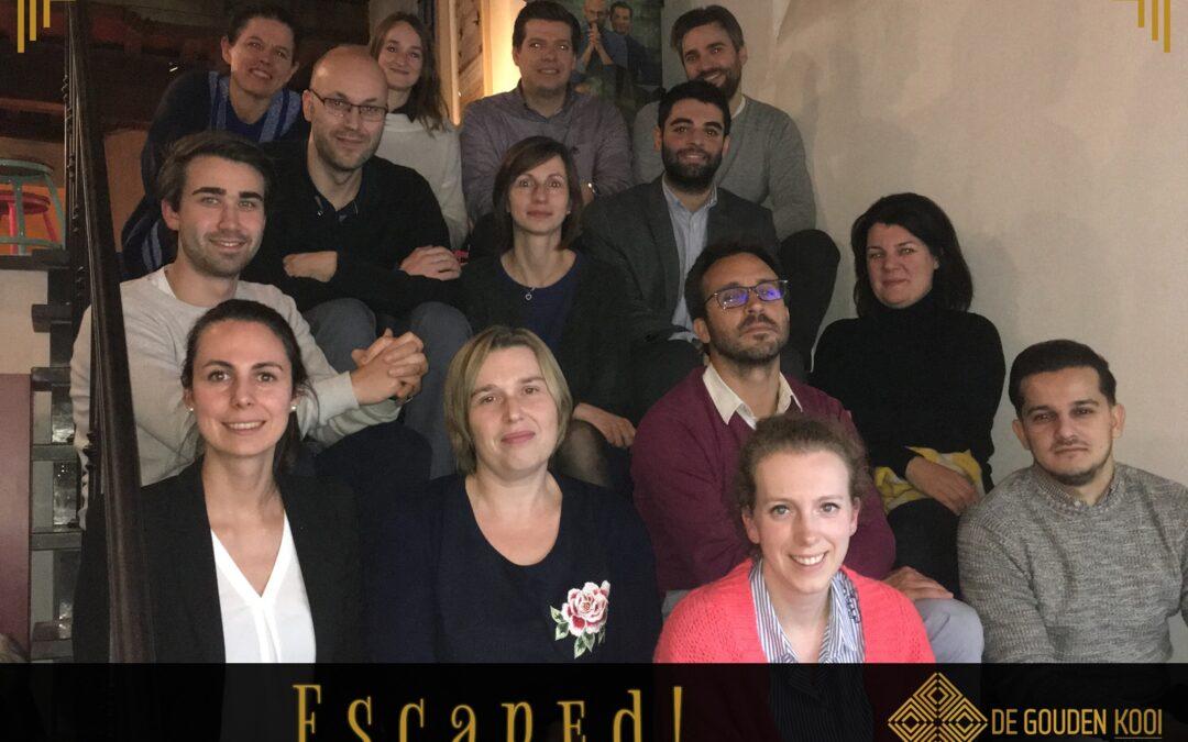 Escape rooms: de perfecte teambuilding activiteit