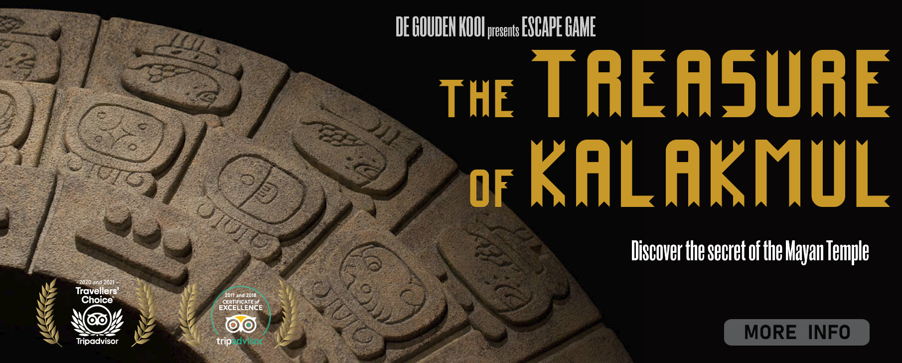 Escape game De Gouden Kooi - treasure of kalakmul