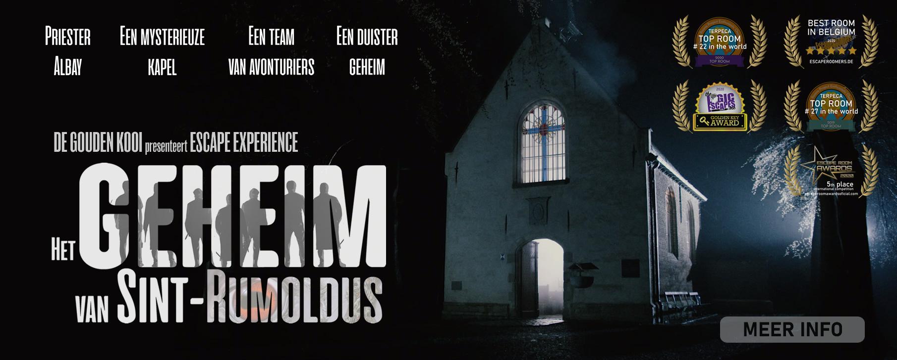 Escape Experience - Het geheim van Sint-Rumoldus