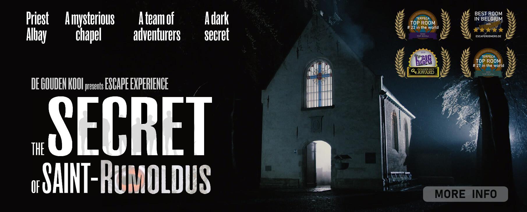 De Gouden Kooi escape experience - The secret of saint-Rumoldus
