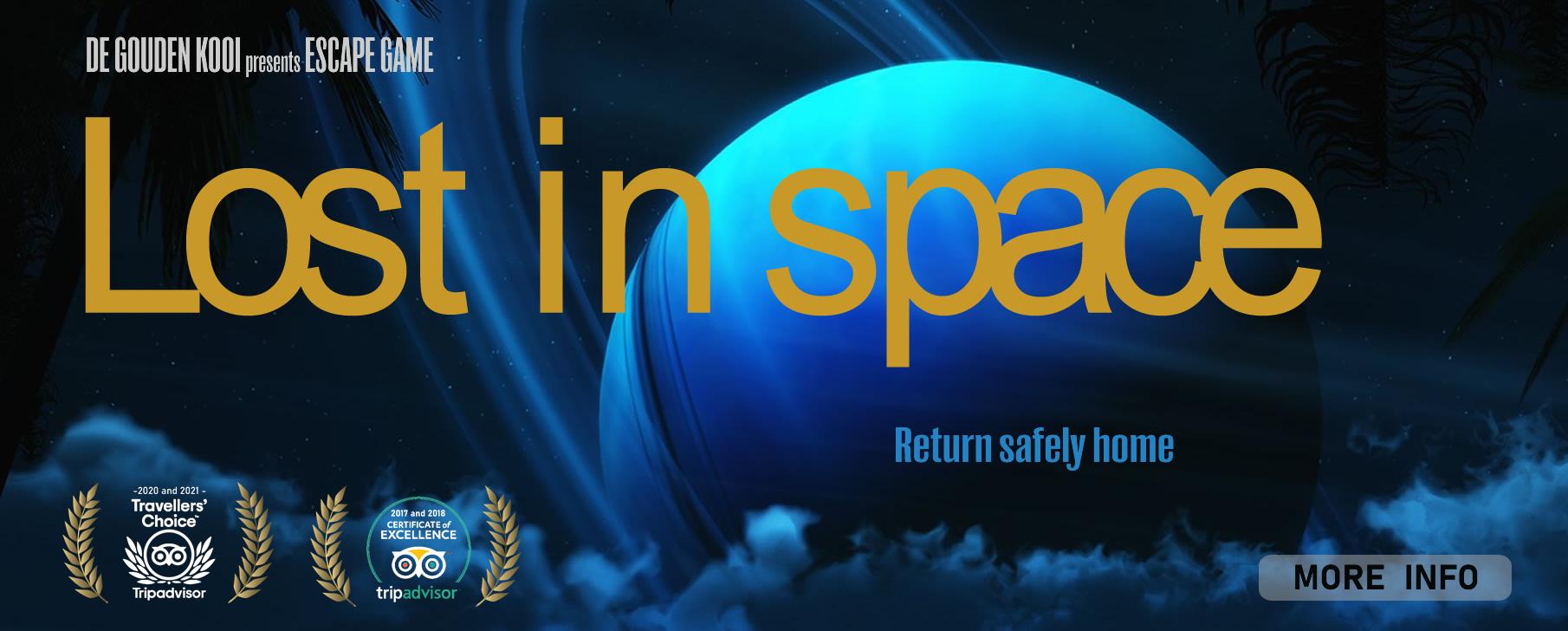 Escape game De Gouden Kooi - Lost in Space