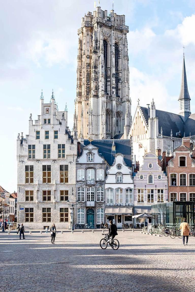 Mechelen Sint Rombouts toren
