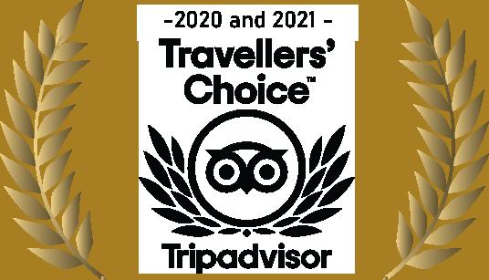 TripAdvisor award 2020-2021