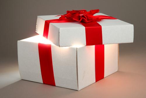 cadeau openen